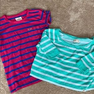 Two Hollister tops